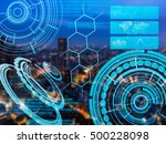cyber hud used as electronic...
