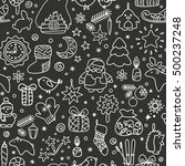 backgrounds with icons   new... | Shutterstock .eps vector #500237248