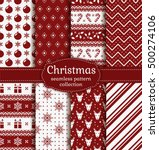 merry christmas and happy new...   Shutterstock .eps vector #500274106