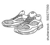vector sketch illustration  ... | Shutterstock .eps vector #500277550