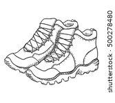 vector sketch illustration  ... | Shutterstock .eps vector #500278480