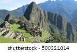 machu pichu  peru | Shutterstock . vector #500321014