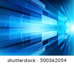 abstract technology background... | Shutterstock .eps vector #500362054