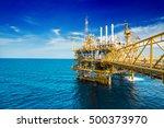 process flatform oil and gas... | Shutterstock . vector #500373970