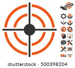target icon with bonus... | Shutterstock .eps vector #500398204