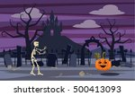 background in computer... | Shutterstock .eps vector #500413093