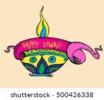 diwali price tag banner | Shutterstock .eps vector #500426338