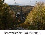 bursa  uludag cable car autumn... | Shutterstock . vector #500437843