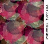 seamless pattern autumn design. ... | Shutterstock . vector #500441566