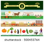 vector illustrations for... | Shutterstock .eps vector #500453764