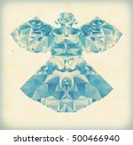 polygonal illustration of a... | Shutterstock . vector #500466940