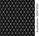 seamless black triangle pattern   Shutterstock .eps vector #500472016