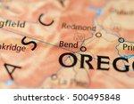 bend  oregon  usa. | Shutterstock . vector #500495848