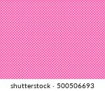 Pink Background With White...
