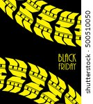 black friday background | Shutterstock .eps vector #500510050