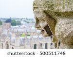 Carved Gargoyle Figure And All...