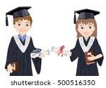 Schoolboy And Schoolgirl In...