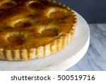 apricot pie | Shutterstock . vector #500519716