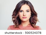 perfect beauty. beautiful woman ... | Shutterstock . vector #500524378