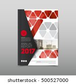 modern abstract brochure  flyer ... | Shutterstock .eps vector #500527000