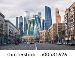 Outdoor Landscape Of Moscow...