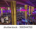 las vegas   oct 05   the... | Shutterstock . vector #500544703