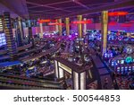 las vegas   oct 05   the... | Shutterstock . vector #500544853