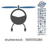 helicopter pictograph with... | Shutterstock .eps vector #500550280