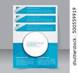 abstract flyer design... | Shutterstock .eps vector #500559919