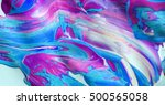 abstract art. original oil... | Shutterstock . vector #500565058