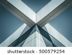 abstract image of building...   Shutterstock . vector #500579254