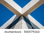 abstract image of building... | Shutterstock . vector #500579263