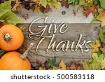 Give Thanks Holiday Card