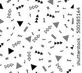 geometric seamless pattern... | Shutterstock .eps vector #500585164