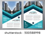 business brochure flyer design... | Shutterstock .eps vector #500588998
