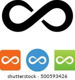 infinity symbol   Shutterstock .eps vector #500593426