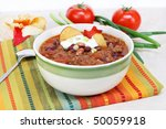 One Bowl Of Mexican Taco Soup...