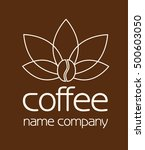 logo for the coffee company.... | Shutterstock .eps vector #500603050