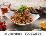 mugagal chicken  arabic food | Shutterstock . vector #500612806