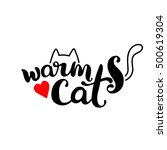 warm cat. lettering. the cat's...