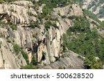 mighty granite escarpment of...   Shutterstock . vector #500628520