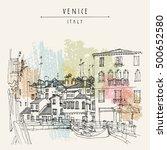 Gondola In Venice  Italy ...