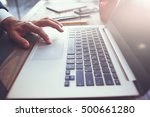 computer software development... | Shutterstock . vector #500661280