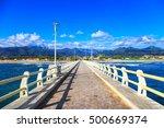 Pier Footpath Promenade  Beach...