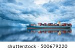 logistics and transportation of ... | Shutterstock . vector #500679220
