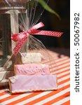 wedding cookie in plastic bag.   Shutterstock . vector #50067982