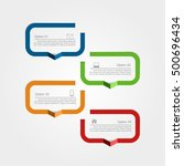 infographic design template... | Shutterstock .eps vector #500696434