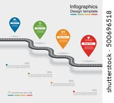 infographic design template... | Shutterstock .eps vector #500696518