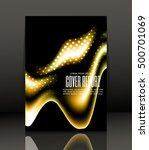 template design for cover.... | Shutterstock .eps vector #500701069