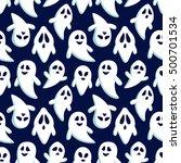 happy halloween seamless...   Shutterstock .eps vector #500701534